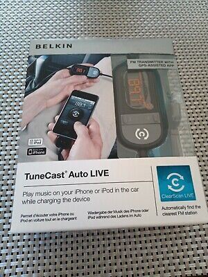 Belkin Tunecast Auto Live.Never Opened Or Used • 5.50£
