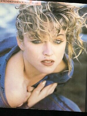"""MADONNA - Angel  (12"""" Vinyl Record) Extended Dance Mix. • 2£"""