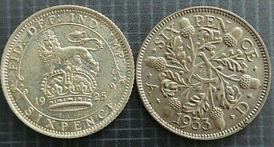 £2.25 • Buy George V 1911 To 1936 Silver Sixpences 6d Choose Your Year / Grade