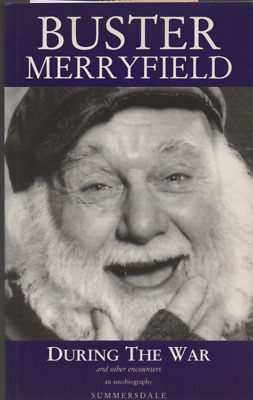 Buster Merryfield SIGNED 1ST PRINTING  'During The War' Only Fools & Horses 1996 • 31.90£