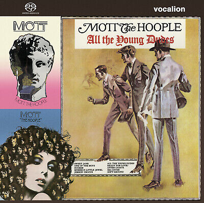 Mott The Hoople The Hoople, All The Young Dudes & Mott SACD Hybrid Multi-Channel • 21.99£