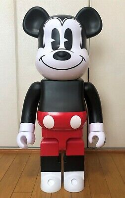 $1200.56 • Buy Medicom Toy Be@rbrick 2020 Disney Mickey Mouse Red & White 1000% Bearbrick R&W