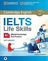 Ielts Life Skills Official Cambridge Test Practice B1 : Includes Answers And ... • 15.50£