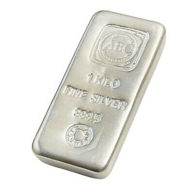 AU1290 • Buy Perth Mint Silver Bullion Bar 1kg