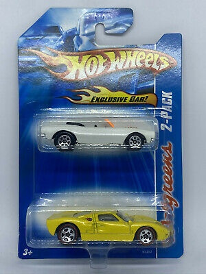 Hot Wheels 2007 Walgreens Exclusive 2-Pack Ford GT-40 And '67 Camaro Convertible • 9.99£