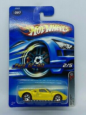 Hot Wheels 2006 Red Line Ford GT-40 #2/5 • 12.99£