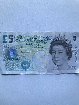 Old English 5 Pound Note • 8£