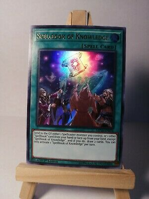 AU5.10 • Buy Spellbook Of Knowledge - MP18-EN076 - Ultra Rare - 1st Edition NM Yugioh