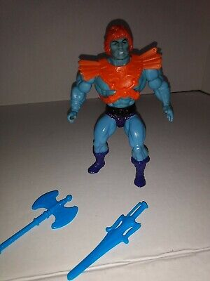 $45 • Buy MOTU Faker Masters Of The Universe He-man  Vintage Rare Blue Weapons