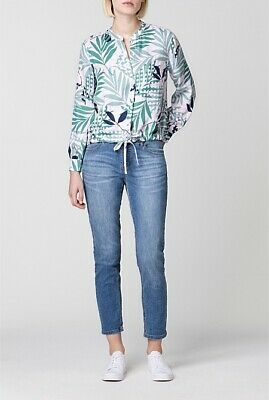 AU20 • Buy Trenery By Country Road Spot Foliage Blouse Size M