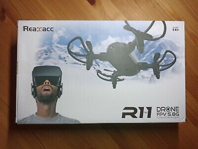 Realacc R11 Mini Drone 5.8G FPV (Damaged Controller) Foldable RC With Goggles HD • 45£