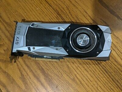 $ CDN276.36 • Buy Nvidia GeForce GTX 1070 Founders Edition Graphics Card 8GB