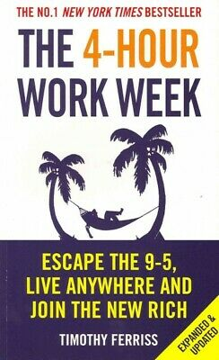 AU26.68 • Buy 4-hour Work Week : Escape The 9-5, Live Anywhere And Join The New Rich, Paper...