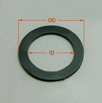 AU10.61 • Buy Select Size ID 50mm - 60mm Rubber O-Ring Gaskets Washer 3mm Thick