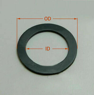 AU15.28 • Buy Select Size ID 50mm - 60mm Rubber O-Ring Gaskets Washer 4mm Thick