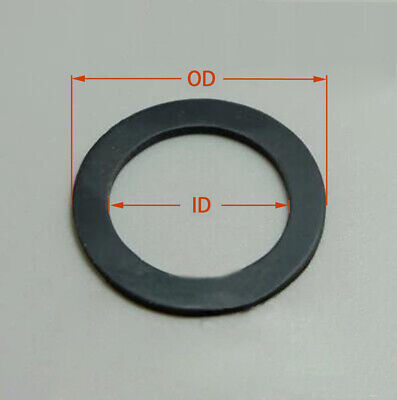 AU10.61 • Buy Select Size ID 50mm - 60mm Rubber O-Ring Gaskets Washer 2mm Thick