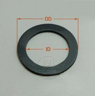 AU12.22 • Buy Select Size ID 50mm - 60mm Rubber O-Ring Gaskets Washer 0.5mm Thick