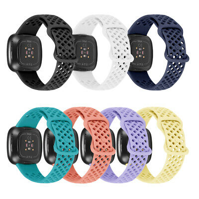 $ CDN3.67 • Buy For Fitbit Versa 3/Sense Sports Silicone Watch Strap Band Wristband Replacement