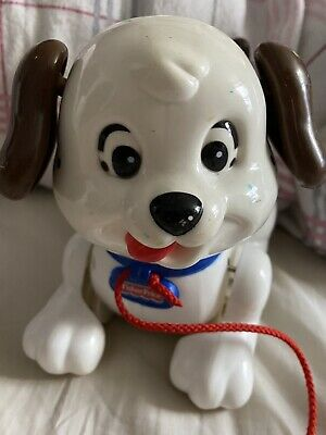 Fisher Price Lil Snoopy Pull Along Dog.. Vintage.. Great Condition • 4£
