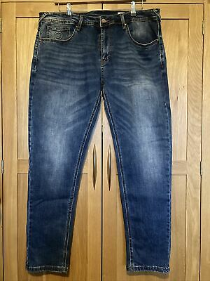 Mens Duck And Cover Overbug Tapered Jeans W36 L Regular Hardly Worn • 6.99£