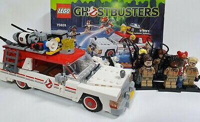 Lego 75828 Ghostbusters Ecto-1 And 6 Mini Figures -displayed Only  • 59.99£
