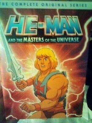 $35 • Buy He-Man And The Masters Of The Universe: The Complete Original Series (DVD,...