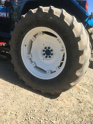 £450 • Buy Set Of Tractor Tyres Fronts Michelin Agribib 14.9 R28 Rears 600 X 63 R38 X M108