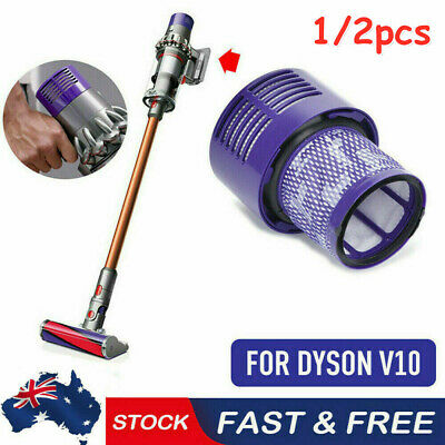 AU14.99 • Buy 1/2PCS For DYSON V10 Filter Genuine Cyclone Animal Absolute Total Clean Washable