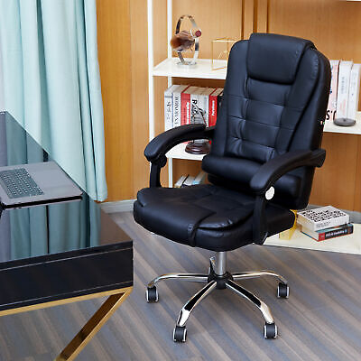 AU104.99 • Buy Massage Chair Office Chair Gaming Chair Point Massage Vibration Recliner PU Wb