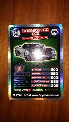 Top Gear Turbo Challenge SUPER RARE TRADING CARDS 255/276 JUST OPENED PACKETS • 6£