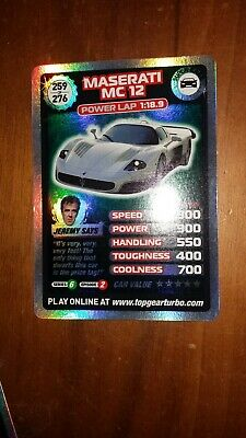 Top Gear Turbo Challenge SUPER RARE TRADING CARDS 259/276 JUST OPENED PACKETS • 5£