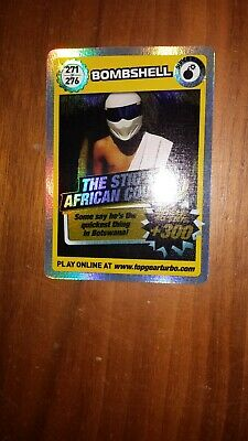 Top Gear Turbo Challenge SUPER RARE TRADING CARDS 271/276 JUST OPENED PACKETS • 5£