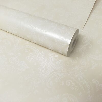 Fine Décor - Champagne And Cream Traditional Floral Damask Wallpaper - FD21622 • 7.99£