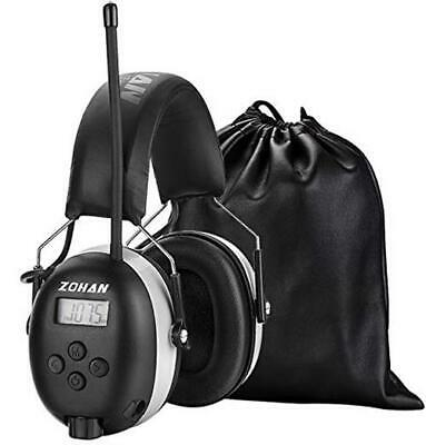 ZOHAN 042 Ear Defenders With Radio, AM/FM Digital  Assorted Colour Names  • 54.46£