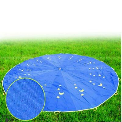 Kids Play Parachute 16ft Kids Sport Parachute With 16 Easy Hold Handles For Team • 40.87£