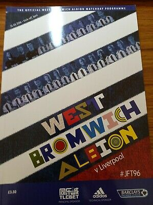 £1.49 • Buy West Brom Home Programmes 2015-16 Season *choose From List*
