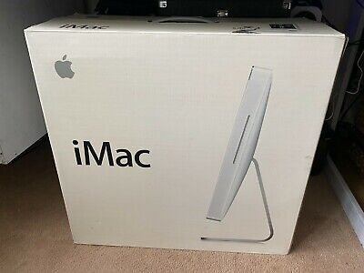 IMac 20  Model A1207 2.16GHz 1GB RAM 250 GB Serial ATA Hard Drive With Box • 50£