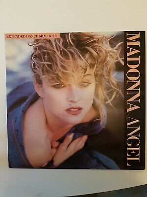Madonna Angel Vinyl 12 Inch Single 1985 Extended Mix • 5£