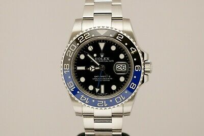 $ CDN19052.64 • Buy Rolex GMT Master II Ceramic Black And Blue 116710BLNR 116710 Batman