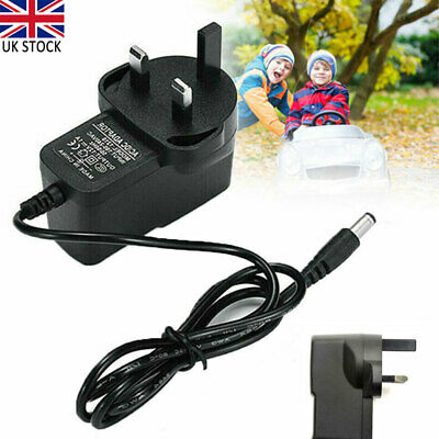 £5.05 • Buy UK Plug 6V 1A Battery Charger Universal For Kids Toy Car Jeeps Electric Ride On