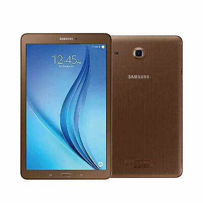 £69.99 • Buy Samsung Galaxy TAB E 9.6 Inch T560 Google Android WI-FI Copper TABLET 8GB UK