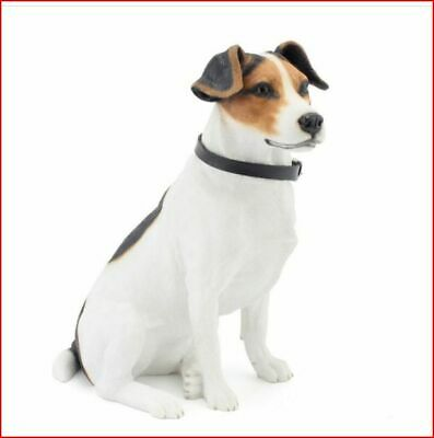 NEW Sitting Jack Russell Figurine - Leonardo Dog Collection Boxed • 45£