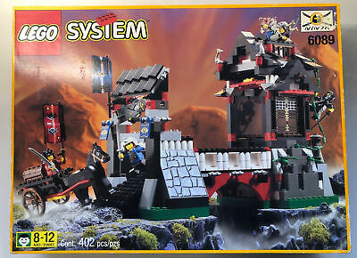Lego System 6089 Ninja Stone Tower Bridge NEW Castle Knights Vintage  • 229.99£