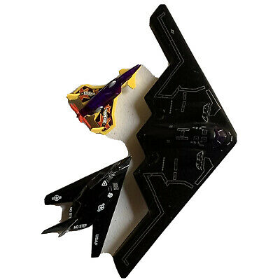 Mens Cave Military Black Airplane 10x4in Collectible Toy Metal F1  • 10.72£