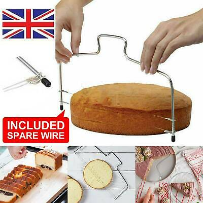 £7.12 • Buy Cake Cutter Leveller Leveler Decorating Wire Slicer Cutting Decorator Tool Hot !