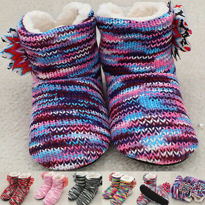 £8.99 • Buy Winter Warm Women Home Slippers Indoor Shoes Cotton Ankle Boots Slipper Size UK