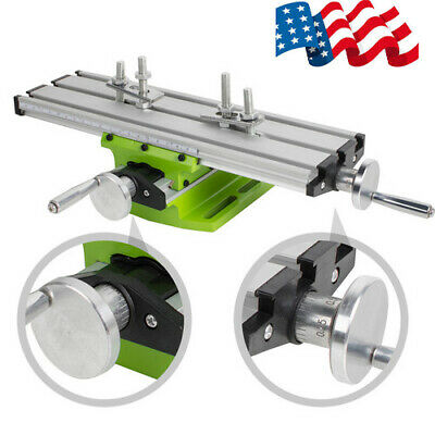$38.94 • Buy Worktable Milling Machine Table Cross Slide X Y Axis Bench Drill Press Vise USPS