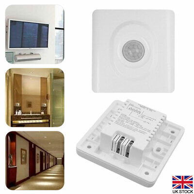 £6.70 • Buy Automatic Infrared PIR Motion Sensor Switch For LED Light Recessed Wall Lamp UK