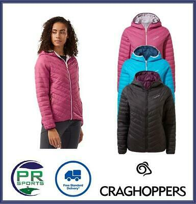 Brand New 2021 Craghoppers Women's Compresslite V Hooded Jacket • 49.99£