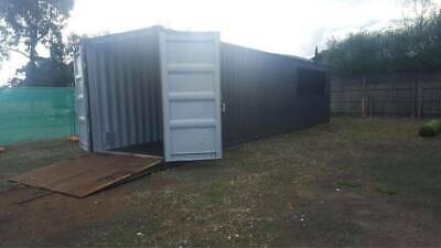 AU6500 • Buy 40 Ft High Cube Shipping Container A Grade Refurbished Inside/ Out